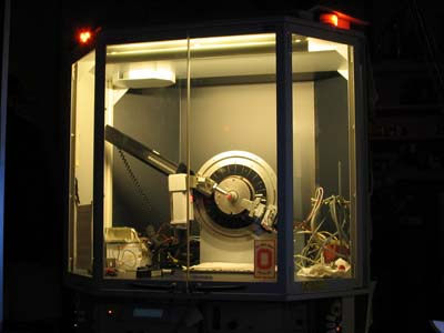 ASL xray powder diffractometer