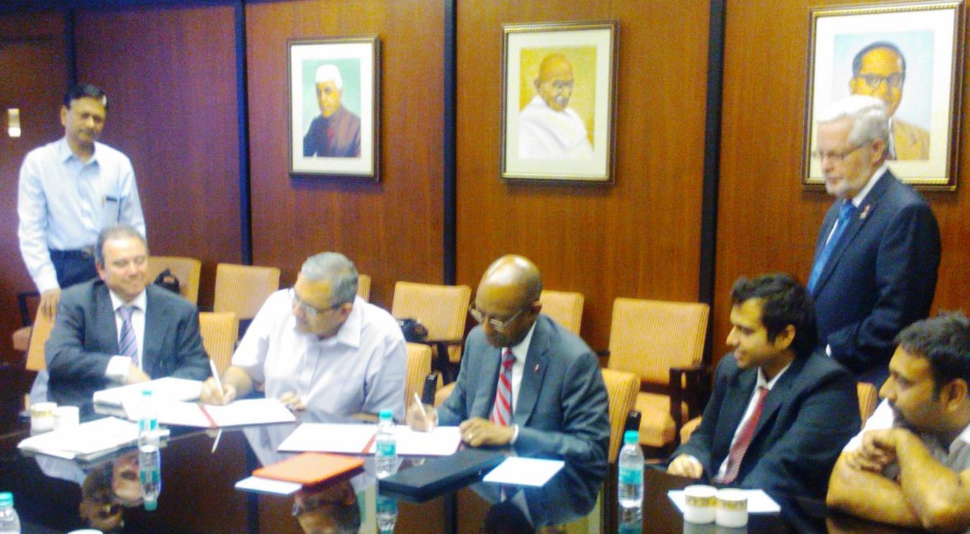 IIT Bombay MOU Signing